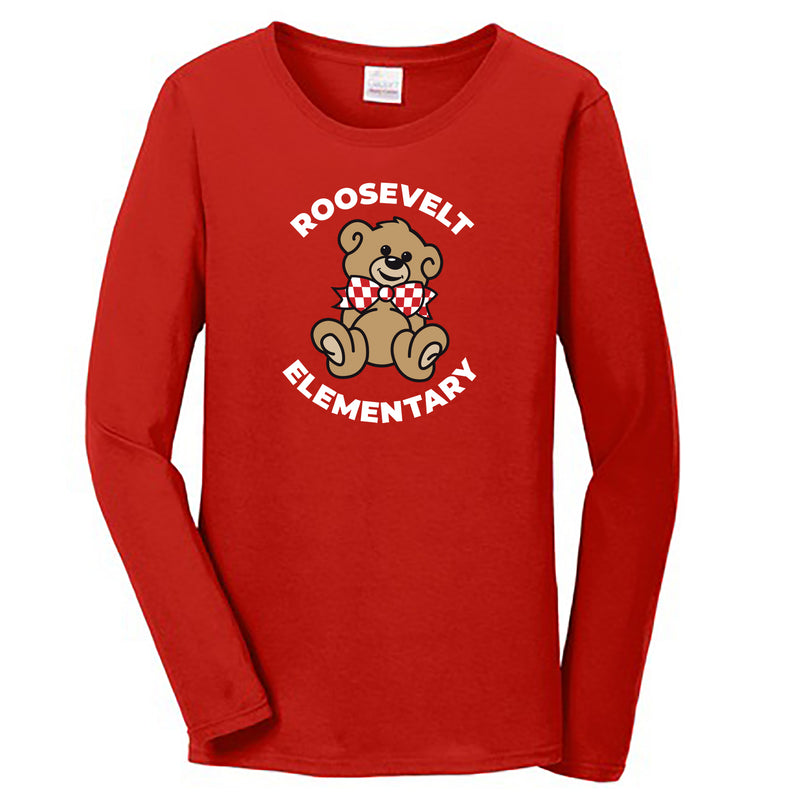 Roosevelt Ladies Essential Long Sleeve T-Shirt (2 Colors)