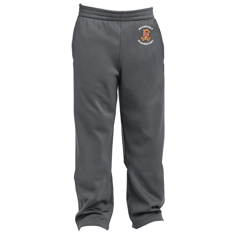 Roosevelt Youth Sport-Wick Fleece Pant