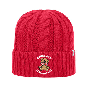 Roosevelt Cable Knit Cap (2 colors)