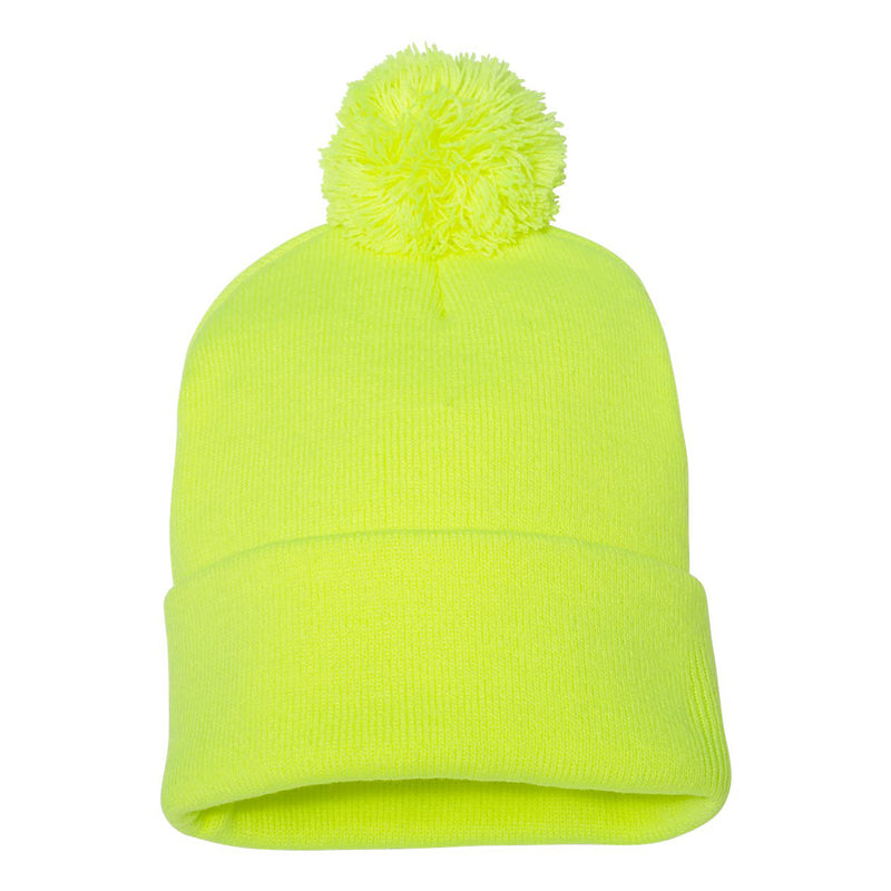 Sportsman SP15 Pom-Pom Knit Beanie