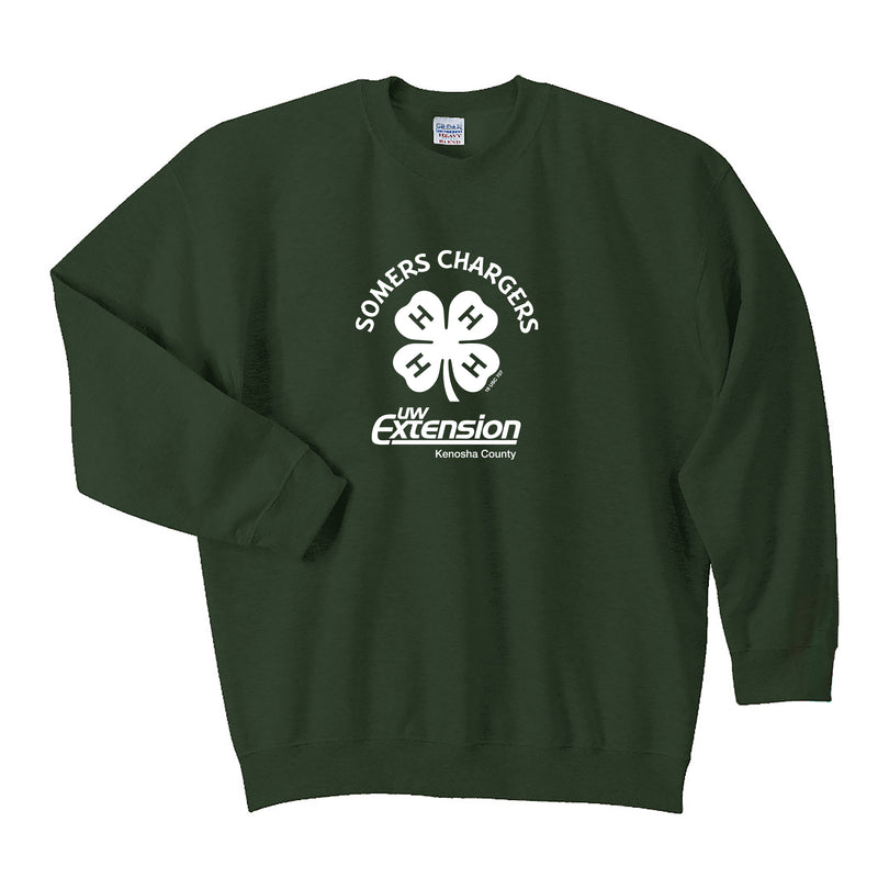 Somers Chargers 4-H Adult Crew Neck Sweatshirt