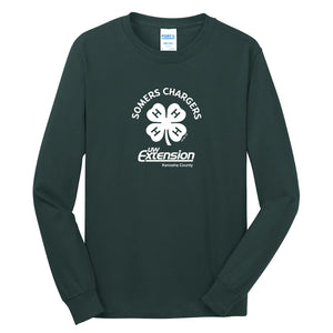 Somers Chargers 4-H Adult Long Sleeve Essential T-Shirt