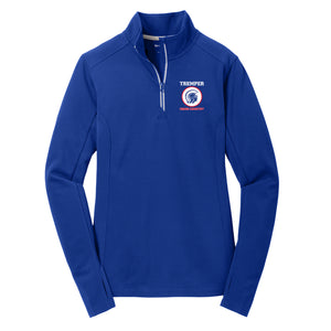 TCC On-Demand Ladies Textured 1/4 Zip