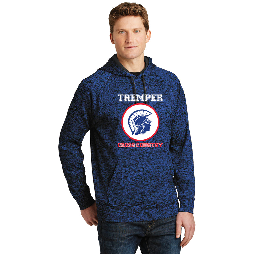 TCC On Demand Adult Electric Blue Electric Heather Performance Hoodie