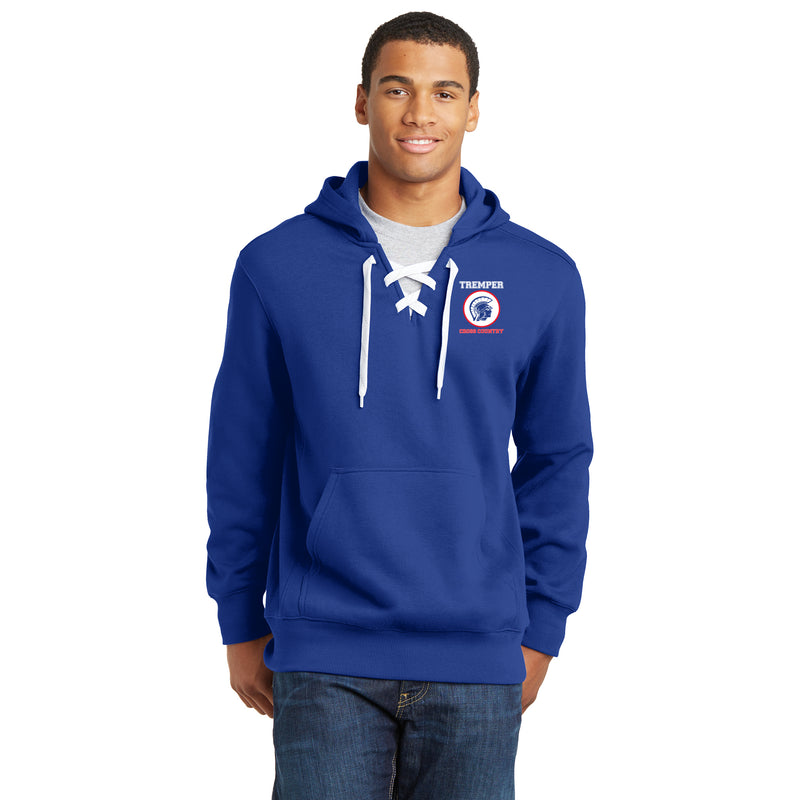 TCC On Demand Adult Lace-up Hoodie Sweatshirt