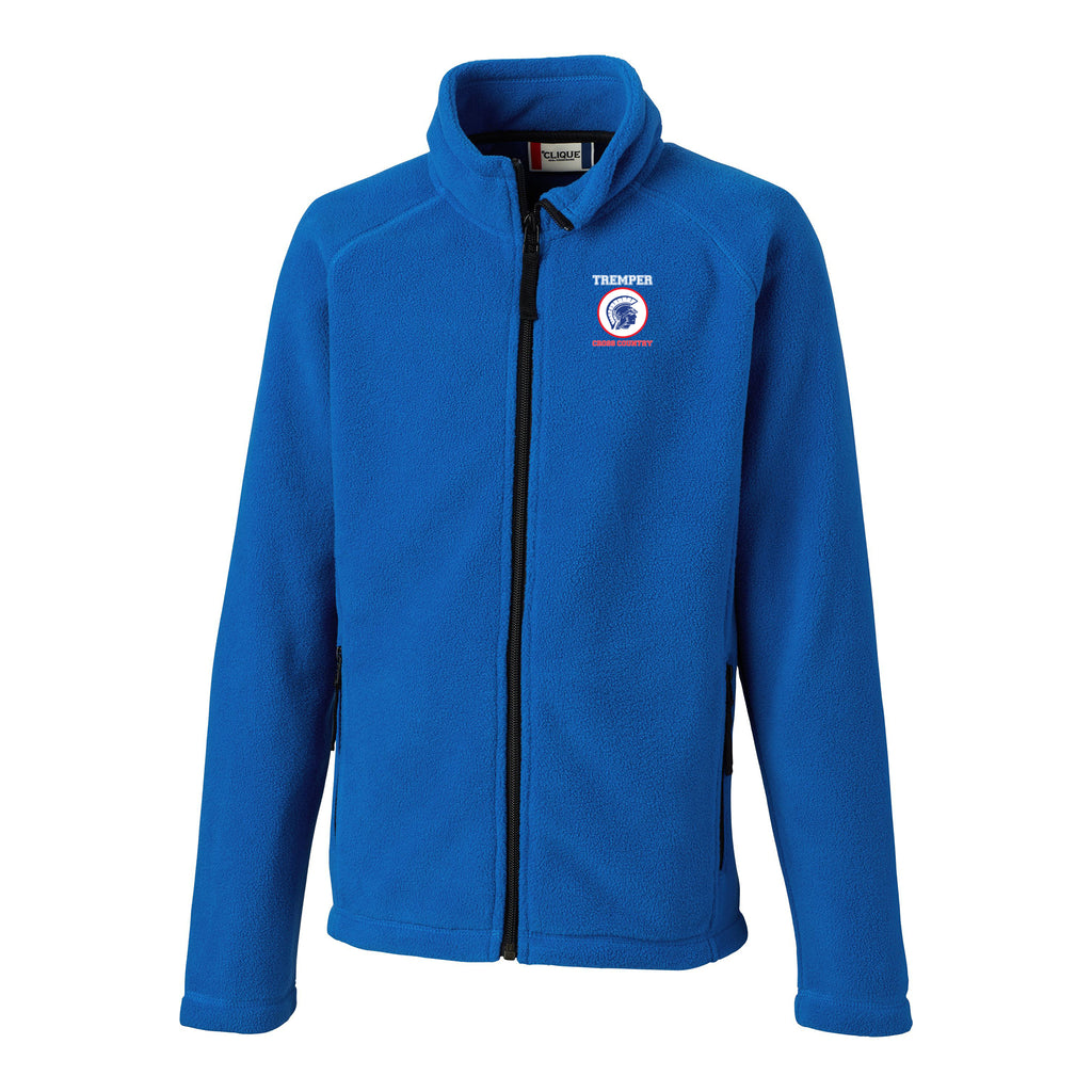 TCC Youth Royal Full Zip Microfleece Jacket