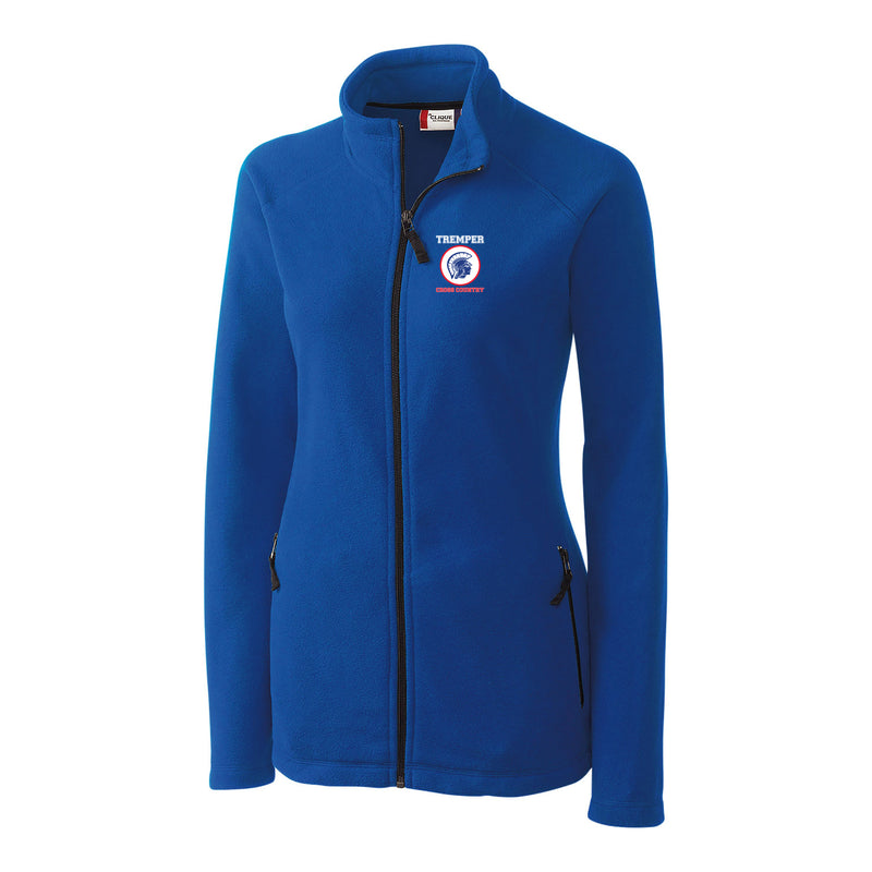 TCC On Demand Ladies' Royal Full Zip Microfleece Jacket