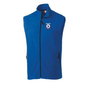 TCC On Demand Adult Royal Full Zip Microfleece Vest