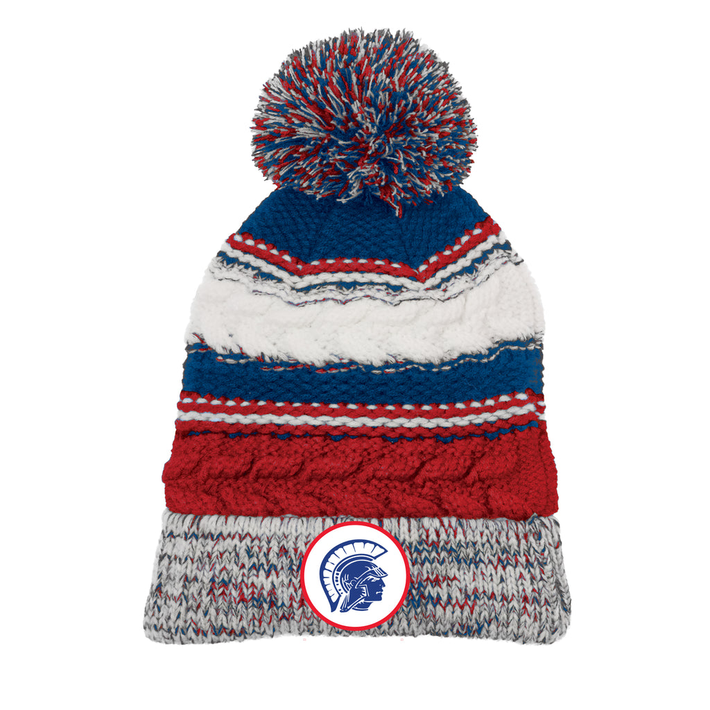 THS On Demand Trojan Head Team Pom Beanie