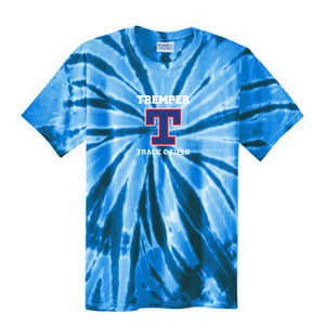 Tremper Track Adult Short Sleeve Tie Dye