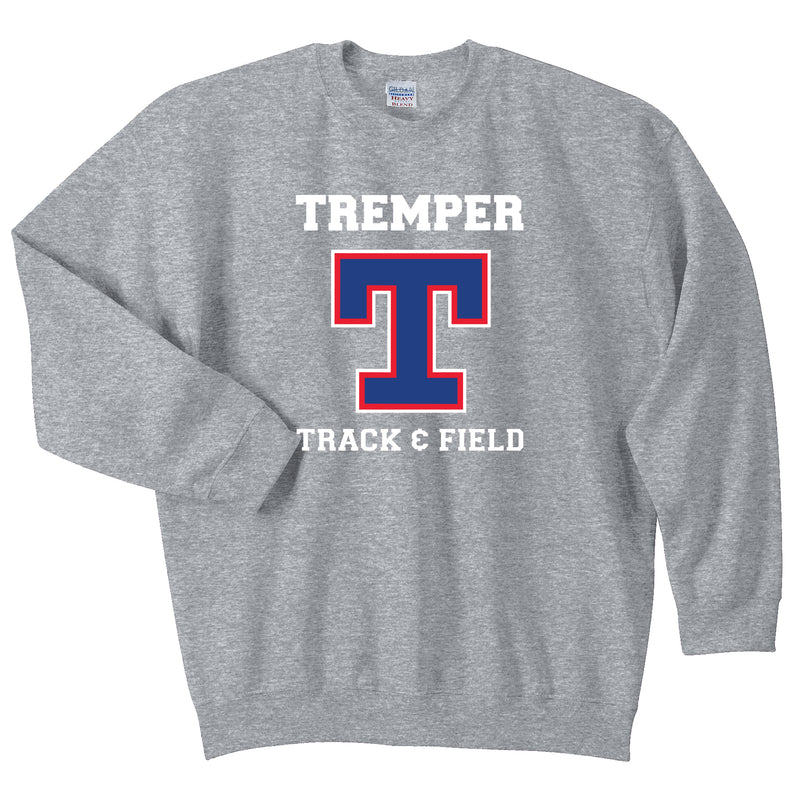Tremper Track Adult Essential Crew Neck Sweatshirt (3 Colors)