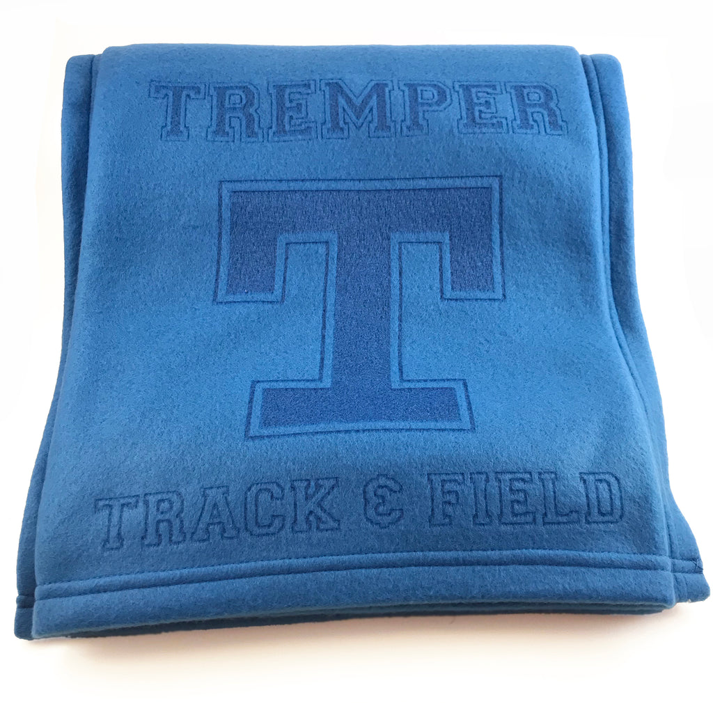 Tremper Track Laser Etched Fleece Blanket