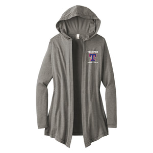 Tremper Track Ladies Hooded Cardigan