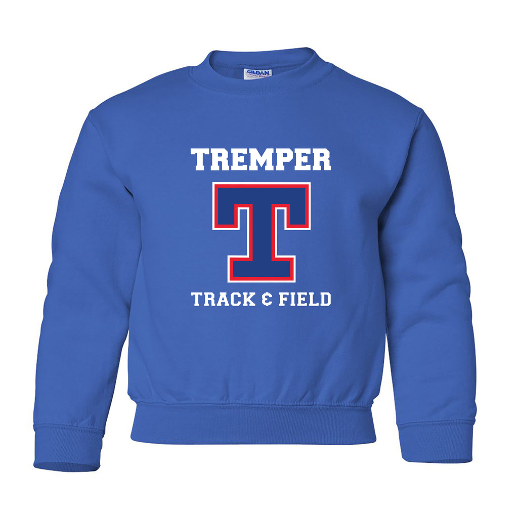 Tremper Track Youth Essential Crewneck Sweatshirt (2 Colors)