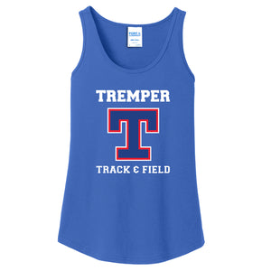 Tremper Track Ladies Essential Big T Tank (2 colors)