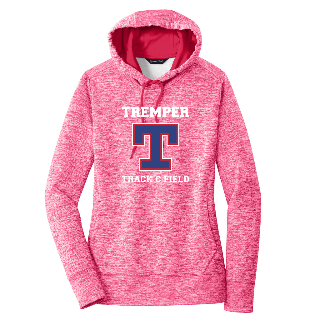 Tremper Track Ladies Electric Heather Sport-Wick Fleece Hoodie (3 colors)