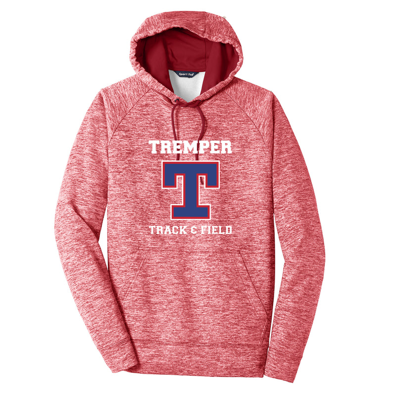 Tremper Track Adult Electric Heather Sportwick Fleece Hoodie - (3 colors)
