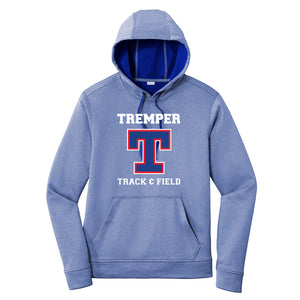 Tremper Track Adult Heathered Sport-Wick Fleece Hoodie (3 colors)