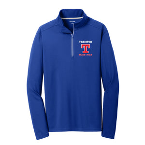 Tremper Track Adult Textured 1/4 Zip (2 colors)
