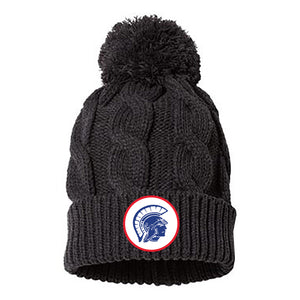 Tremper Chunk Cable Pom Beanie