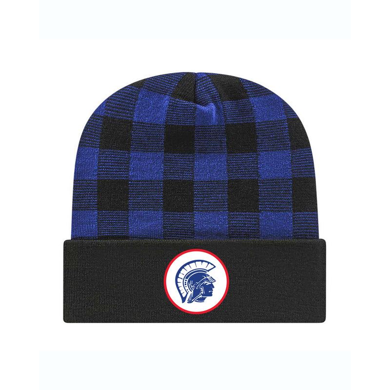 Tremper Plaid Knit Cap with Cuff