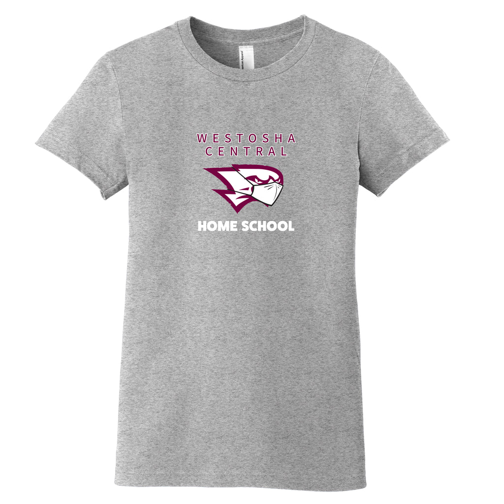 Westosha Central Home School Premium Ladies T-Shirt