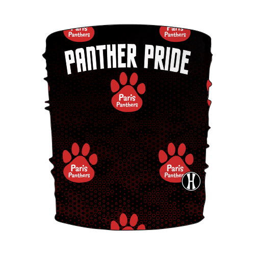 Paris Youth Panther Pride Neck Gaiter - Personalized Early Order