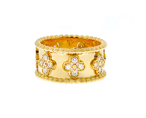 Alhambra band ring