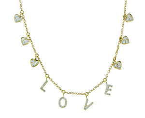 Hearts & Love necklace