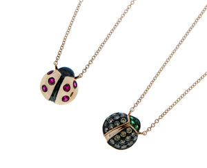 Ladybird necklaces