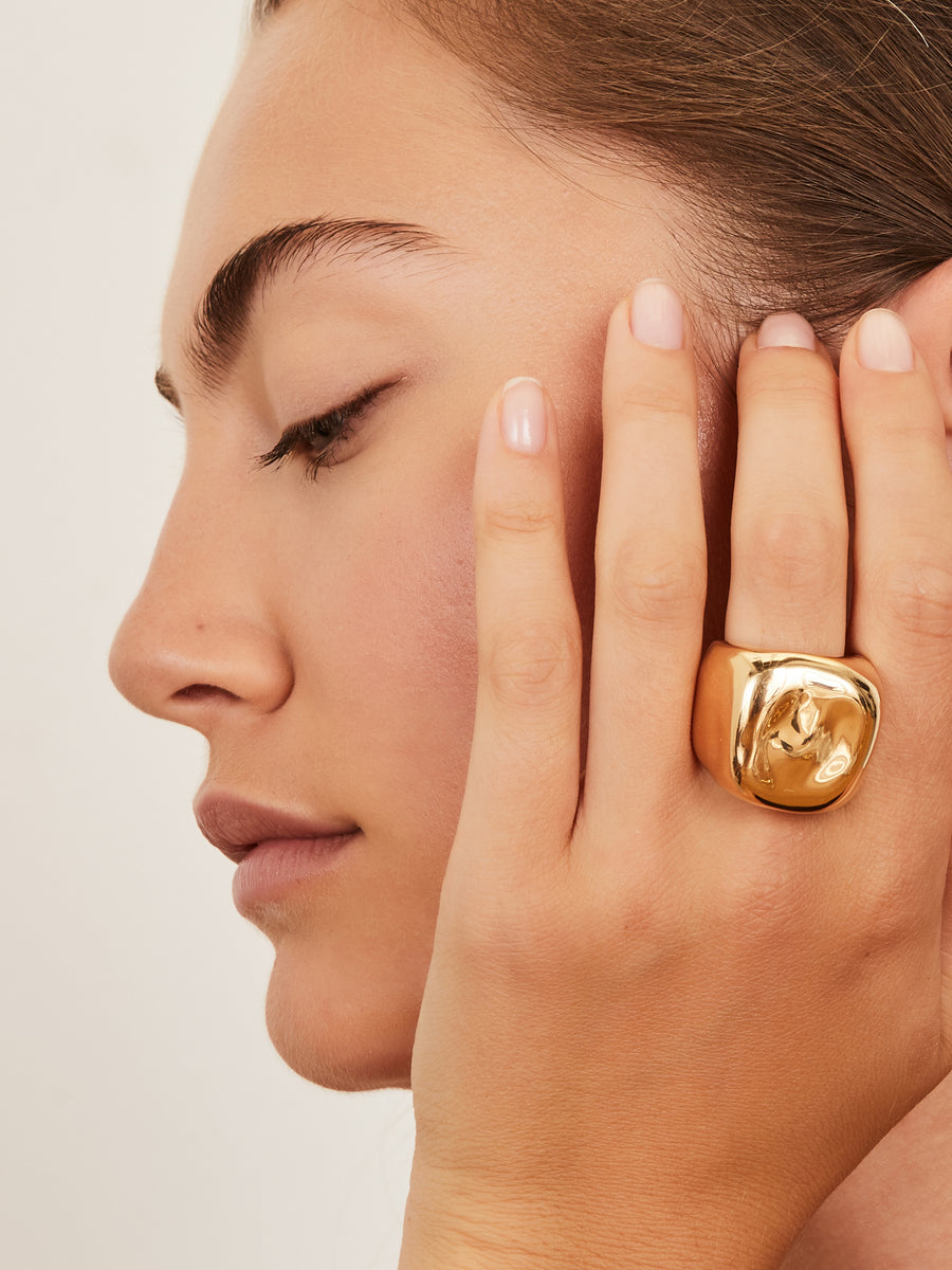 Yellow gold ring Christian Dior
