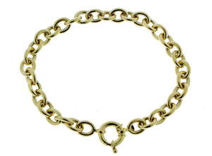Yellow gold bracelet