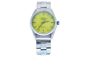 Rolex Air-King Yellow