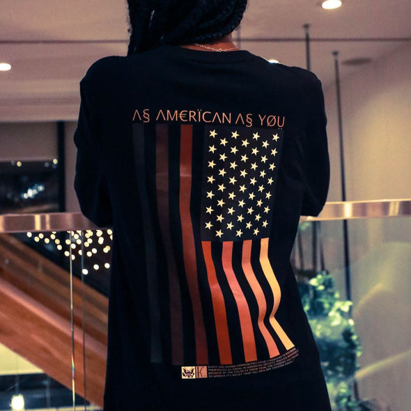 As American LS Tee Organic Cotton Tees Kreative Living