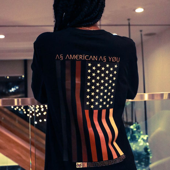 As American SS Tee Organic Cotton Tees Kreative Living