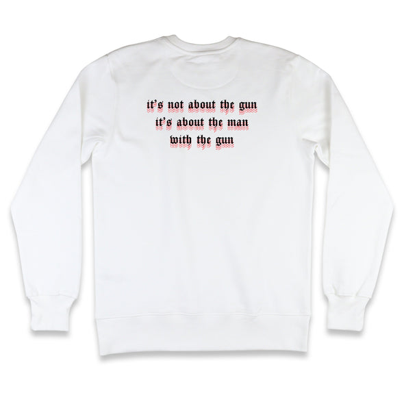 It's Not About The Gun Sweatshirt Kreative Living
