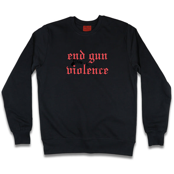 It's Not About The Gun Sweatshirt Kreative Living SM Black