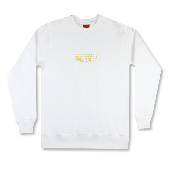 The Garden Gold Sweatshirt sweaters Kreative Living
