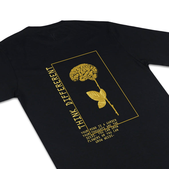 The Garden SS Gold Hemp Tee T-Shirts Kreative Living