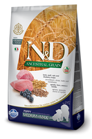 Farmina N&D Ancestral Grain,  Lamb & Blueberry Medium/Maxi Puppy