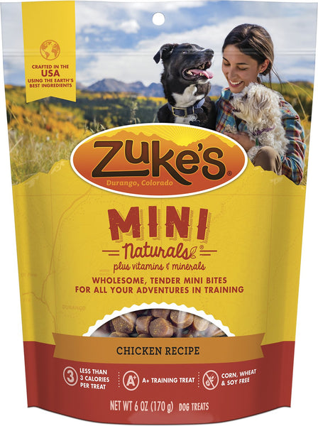 Zuke's Mini Naturals, Chicken Recipe