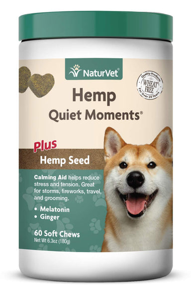 NaturVet Hemp Quiet Moments