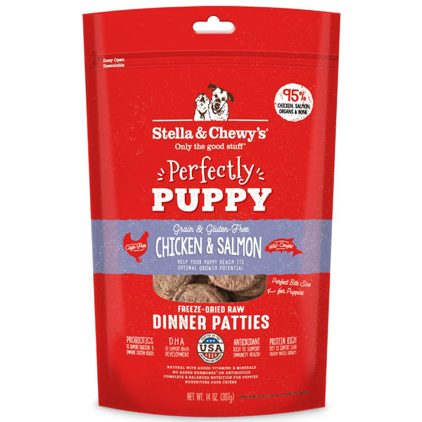 Stella and Chewy's Perfectly Puppy Chicken & Salmon Puppy Patties