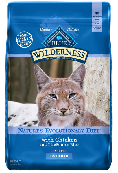 Blue Wilderness Indoor Adult Formula with Chicken