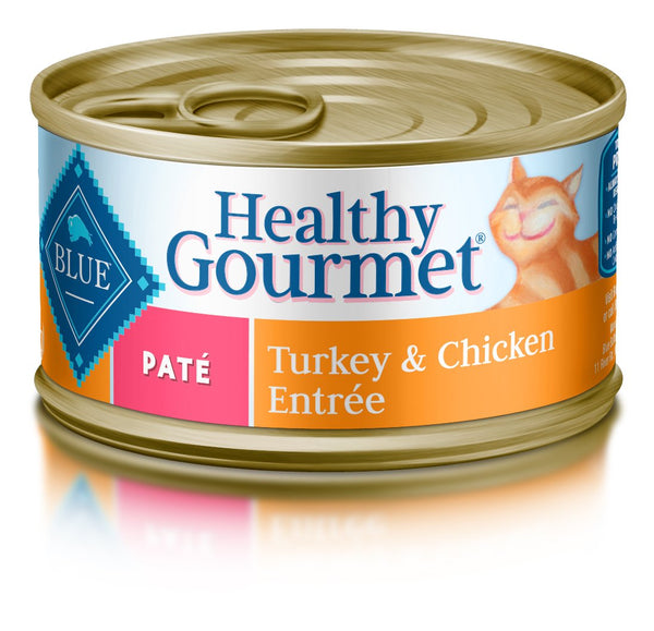 Blue Buffalo Healthy Gourmet Turkey & Chicken Entree