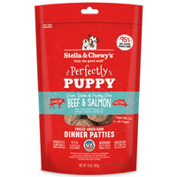 Stella and Chewy's Perfectly Puppy Beef & Salmon Puppy Patties