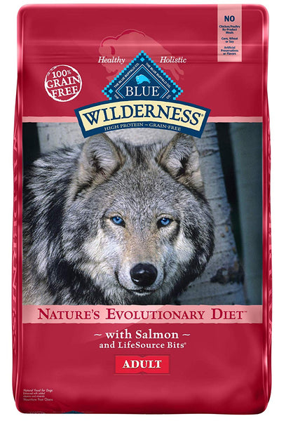 Blue Wilderness High Protein Grain Free Adult Food with Salmon