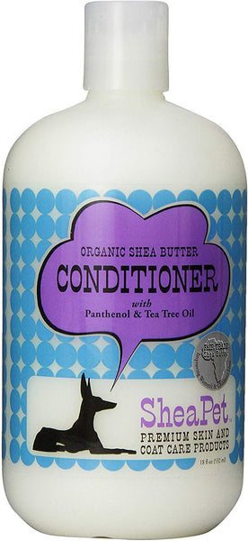 SheaPet Organic Shea Butter Conditioner with Pathenol & Tea Tree Oil