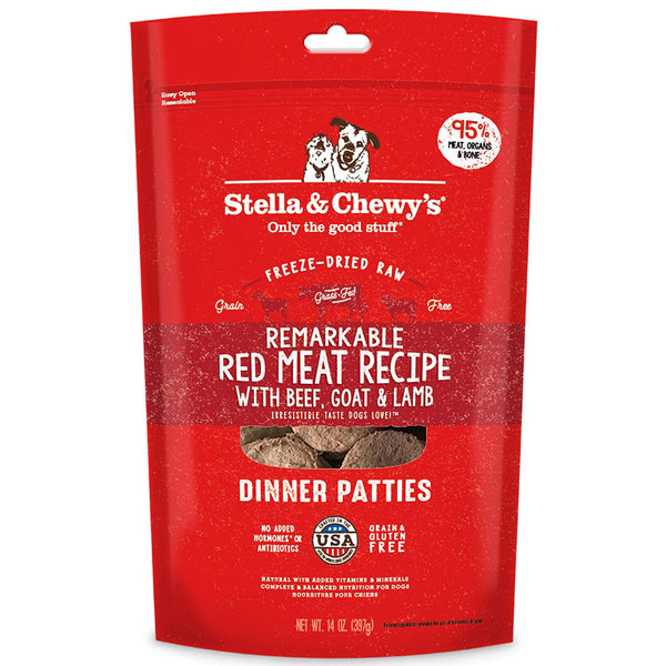 Stella and Chewy's Freeze-Dried Red Meat Dinner Patties