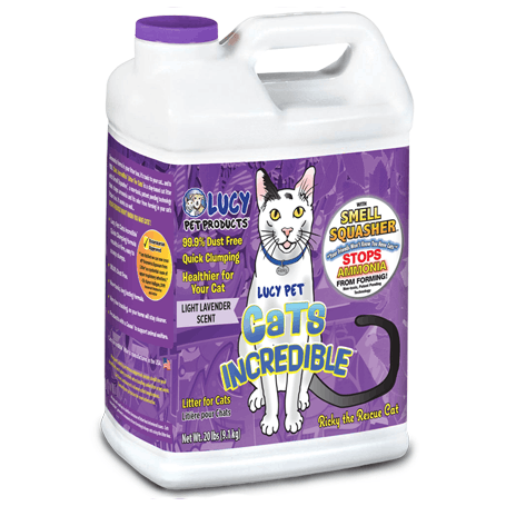 Lucy Pet Cats Incredible Lavender Cat Litter